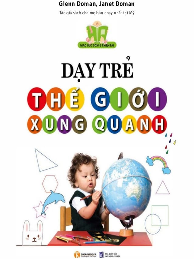 Dạy trẻ về thế giới xung quanh - sách cho bà bầu và cách dạy con
