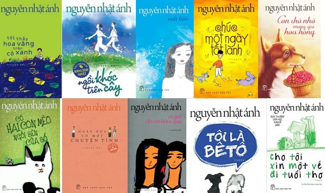 Top 10 cuốn sách truyện của Nguyễn Nhật Ánh đáng xem nhất 10