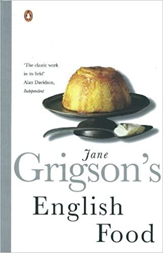 sách nấu ăn English Food - Jane Grigson
